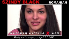 Casting of SZINDY BLACK video