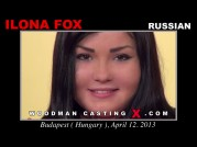 See the audition of Ilona Fox