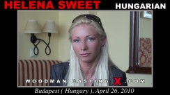 Casting of HELENA SWEET video