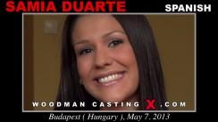 Casting of SAMIA DUARTE video
