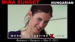 Casting of MIRA SUNSET video