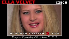 Casting of ELLA VELVET video