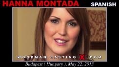 Casting of HANNA MONTADA video