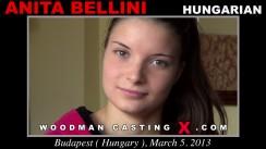 Casting of ANITA BELLINI video