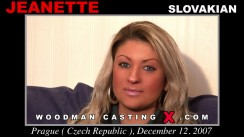 Casting of JEANETTE video