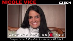 Casting of NICOLE VICE video
