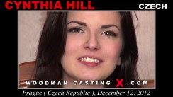Casting of CYNTHIA HILL video
