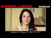 See the audition of Sandra Luberc