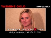 See the audition of Yasmine Gold