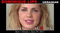 Casting of DOMINIQUE LIPS video