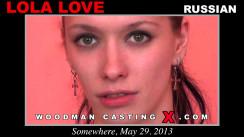 Casting of LOLA LOVE video