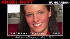 Casting of ANGEL HOTT video