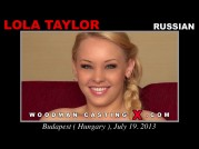 See the audition of Lola Taylor