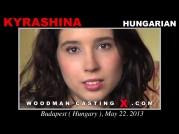 See the audition of Kyrashina