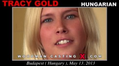 Casting of TRACY GOLD video