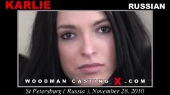 Casting of KARLIE video