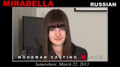 Casting of MIRABELLA video