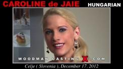 Casting of CAROLINE DE JAIE video
