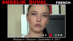 Casting of ANGELIK DUVAL video