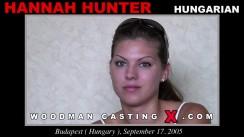 Casting of HANNAH HUNTER video