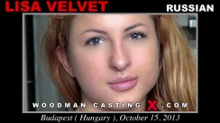 Casting of LISA VELVET video