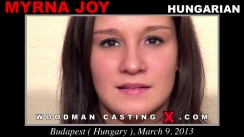 Casting of MYRNA JOY video