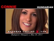 See the audition of Connie
