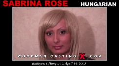 Casting of SABRINA ROSE video