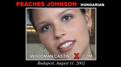 Casting of PEACHES JOHNSON video