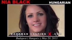 Casting of NIA BLACK video