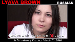 Casting of LYAVA BROWN video