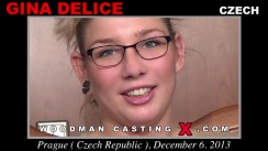 Casting of GINA DELICE video