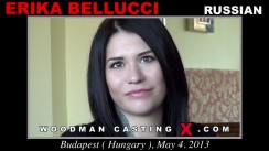 Casting of ERIKA BELLUCCI video