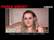 See the audition of Paris Sweet