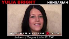 Casting of YULIA BRIGHT video