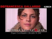 See the audition of Defrancesca Gallardo