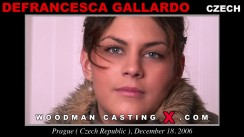 Casting of DEFRANCESCA GALLARDO video