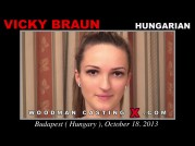 See the audition of Vicky Braun
