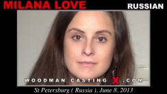 Casting of MILANA LOVE video