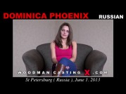 See the audition of Dominica Phoenix