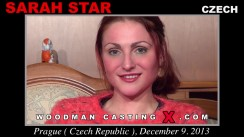 Casting of SARAH STAR video