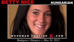 Casting of BETTY NICE video