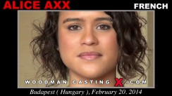 Casting of ALICE AXX video