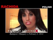 See the audition of Rachida