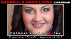 Casting of GABRIELLA DANIELSOVA video
