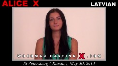 Casting of ALICE X video