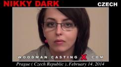 Casting of NIKKY DARK video