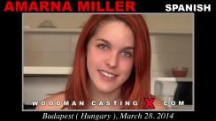 Casting of AMARNA MILLER video