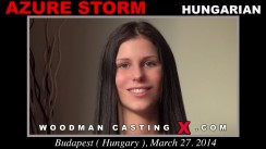 Casting of AZURE STORM video