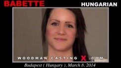 Casting of BABETTE video